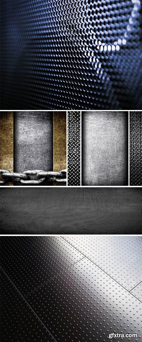 Stock Photos metal background