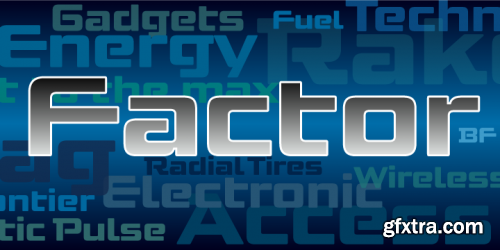 Factor BF Font Family $55