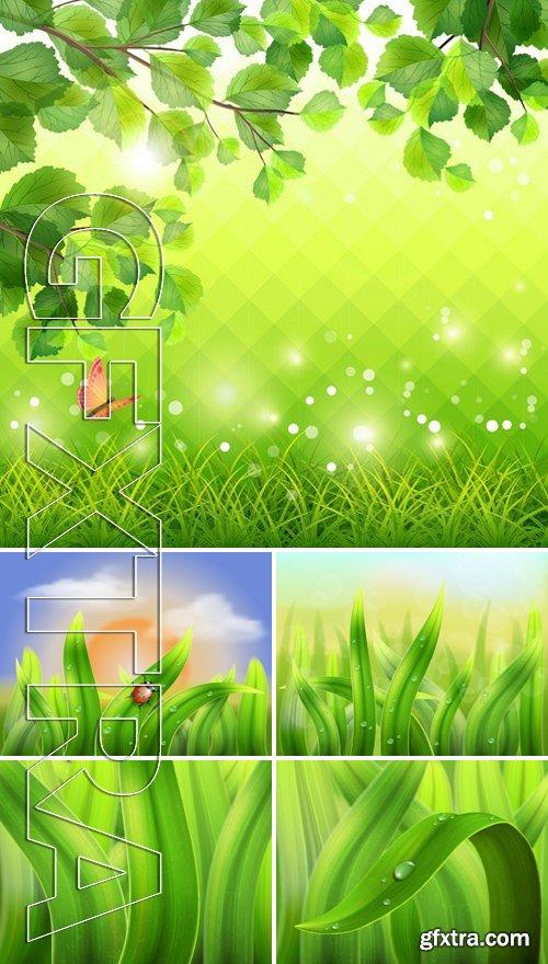 Stock Vectors - Nature flower background 2