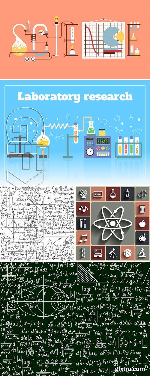 Stock Vectors - Science Concept 12