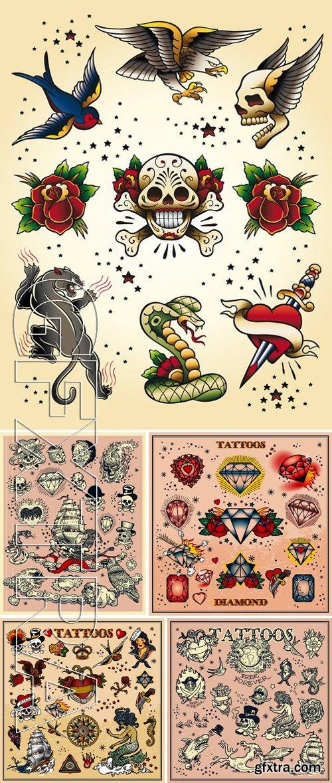 Stock Vectors - Tattoo design