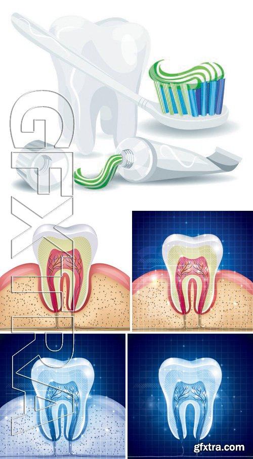 Stock Vectors - Teeth Design