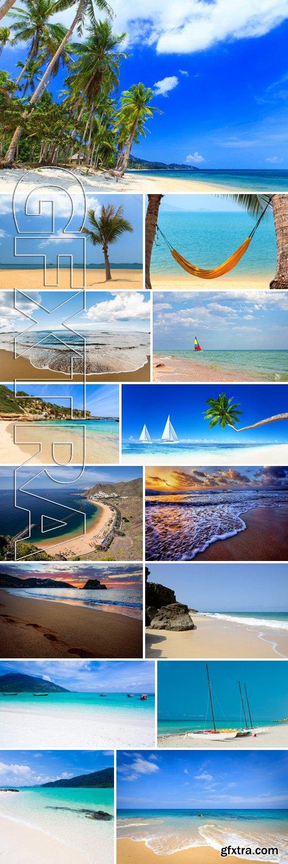 Stock Photos - Beach Background 3