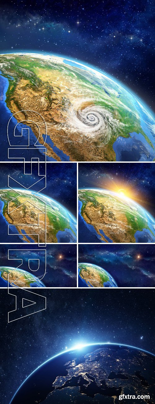 Stock Photos - Face Of The Earth From Space