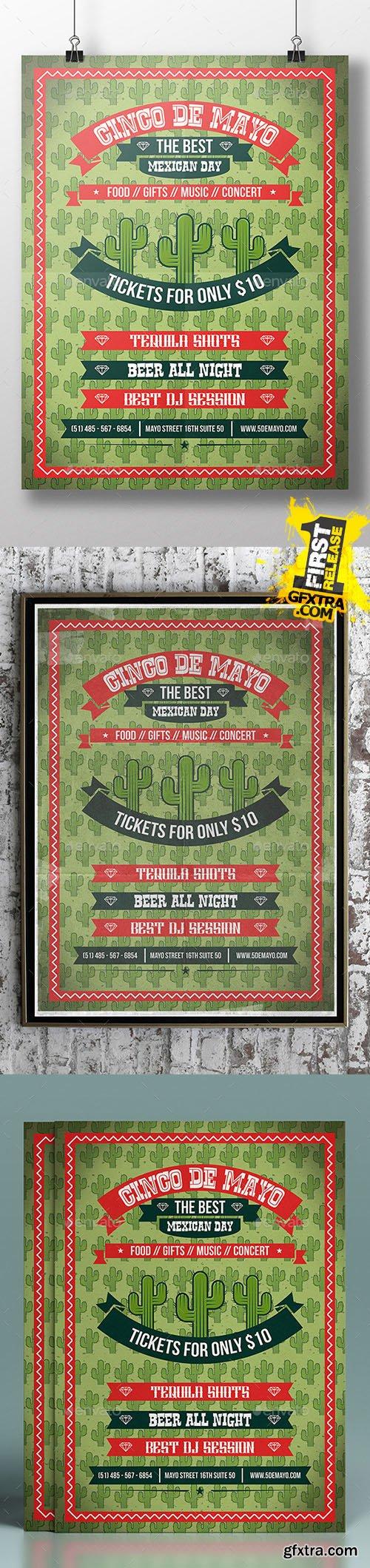 GraphicRiver Cinco de Mayo Flyer Template