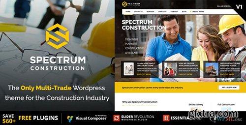 ThemeForest - Spectrum v1.0.8 - Multi-Trade Construction Business Theme - 10259946