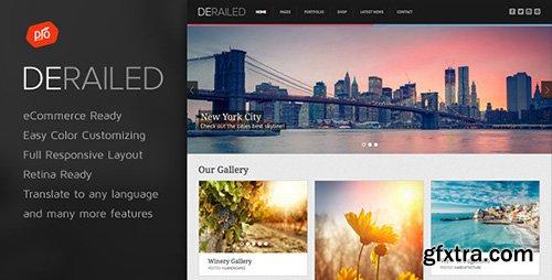 ThemeForest - DeRailed v1.5 - Photography & Portfolio Theme - 6828790