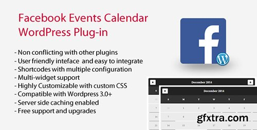 CodeCanyon - Facebook Events Calendar v4.1.3 - WordPress Plugin - 9855120