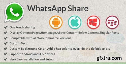 CodeCanyon - WhatsApp Share v1.0 - WordPress Plugin