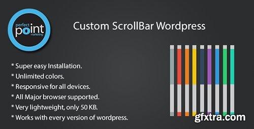 CodeCanyon - Custom scrollbar wordpress v1.3