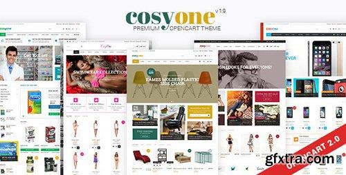 ThemeForest - CosyOne v1.9 - Premium Multipurpose Opencart Theme - 9257138