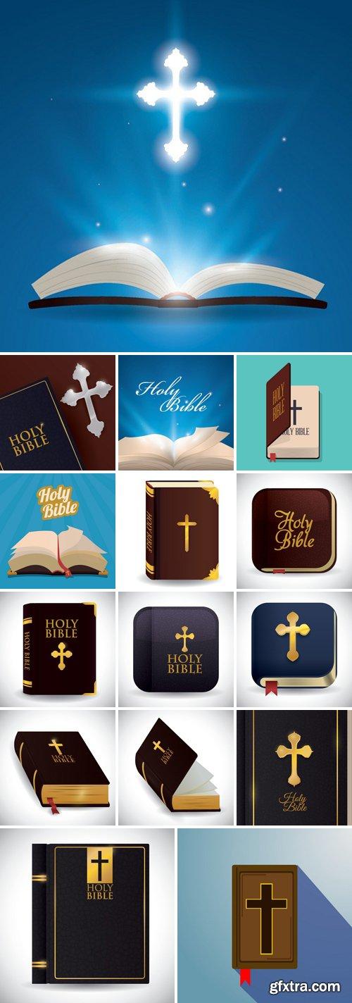 Stock Vectors - Holy bible design