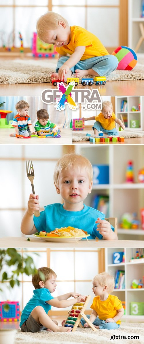 Stock Photo - Kids, Boys