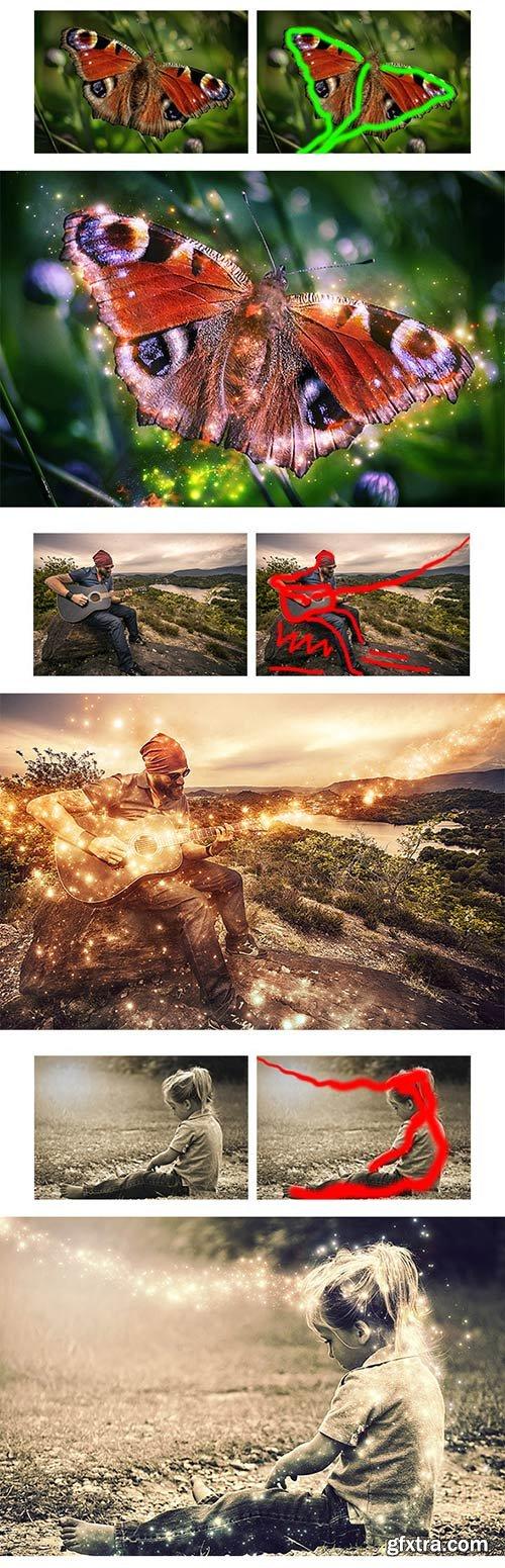 GraphicRiver - MagicDust Photoshop Action 11372261