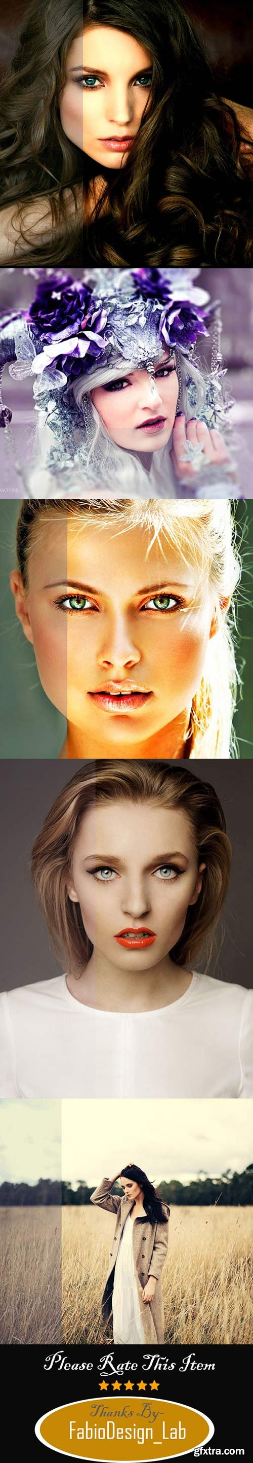 GraphicRiver - 23 HDR & Soft Photoshop Actions Pack 11376346