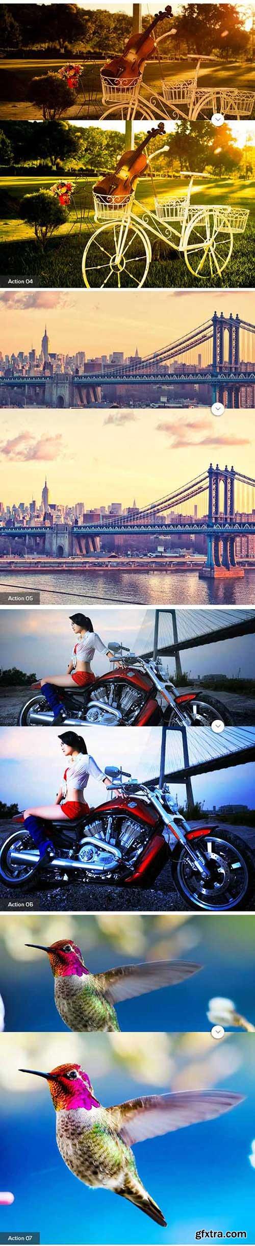 GraphicRiver - 25 Pro Photoshop Action 11364940