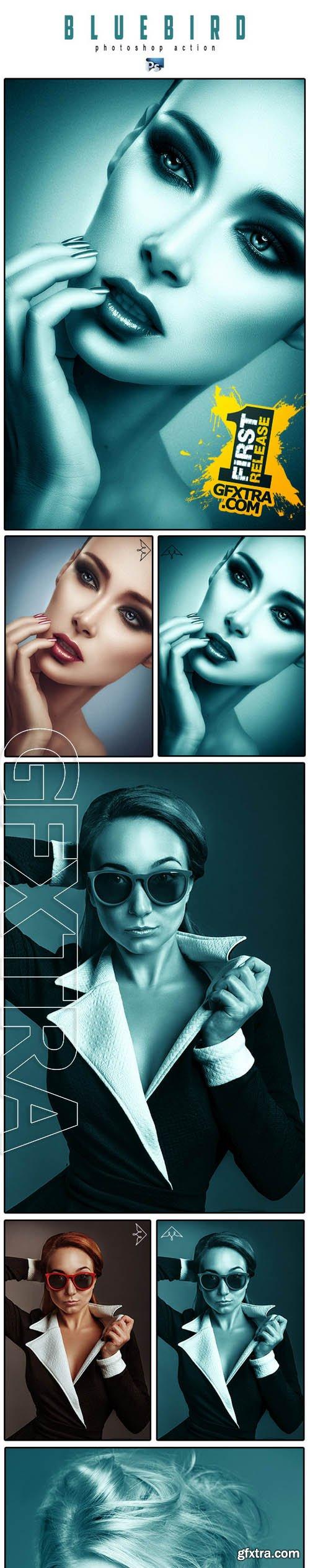Bluebird Photoshop Action - GraphicRiver 11322100