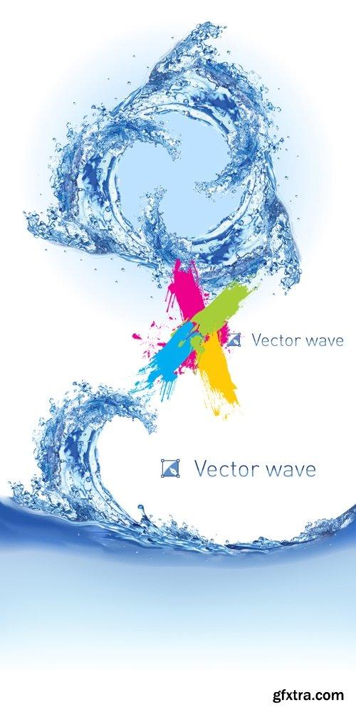 Water Splashes Vector 2