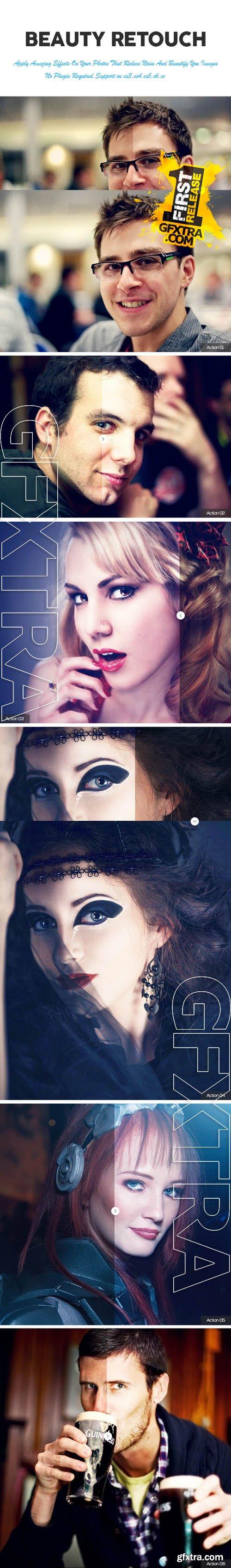 Beauty Retouch Photoshop Action - GraphicRiver 11411734