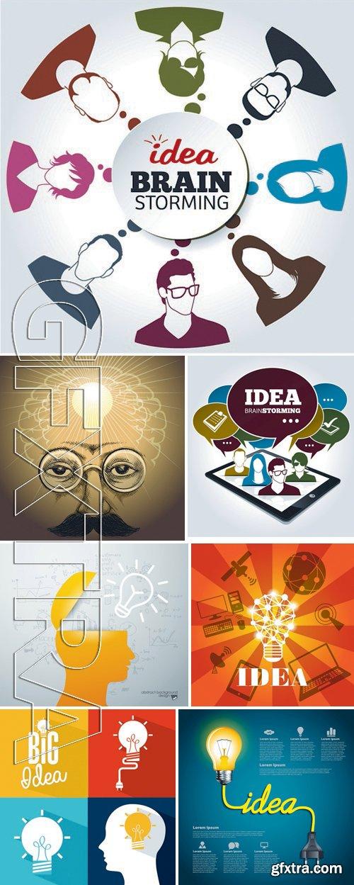 Stock Vectors - Idea Business Infographic 4