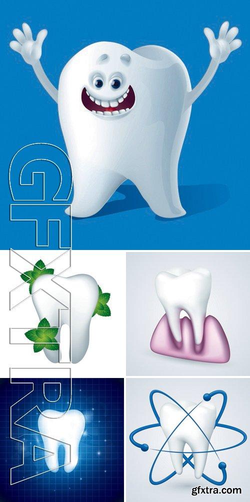 Stock Vectors - Teeth Design 2