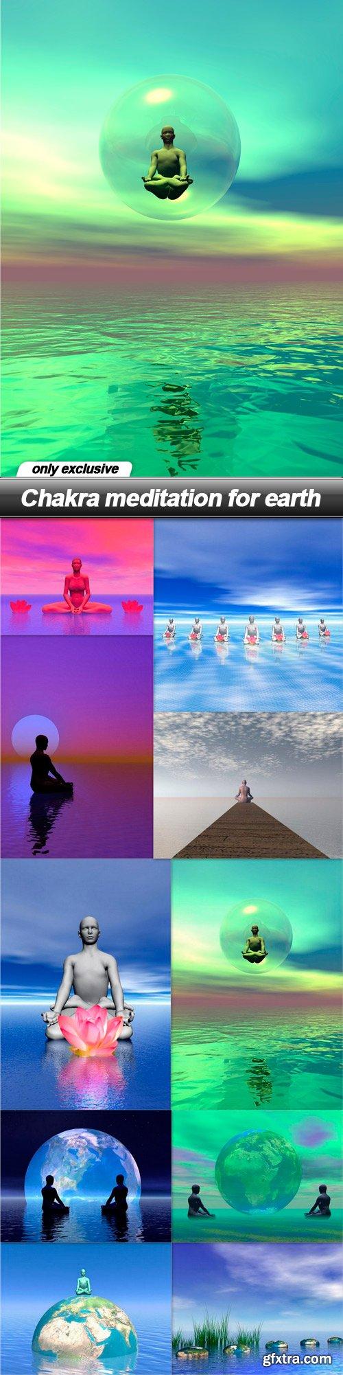 Chakra meditation for earth - 10 UHQ JPEG