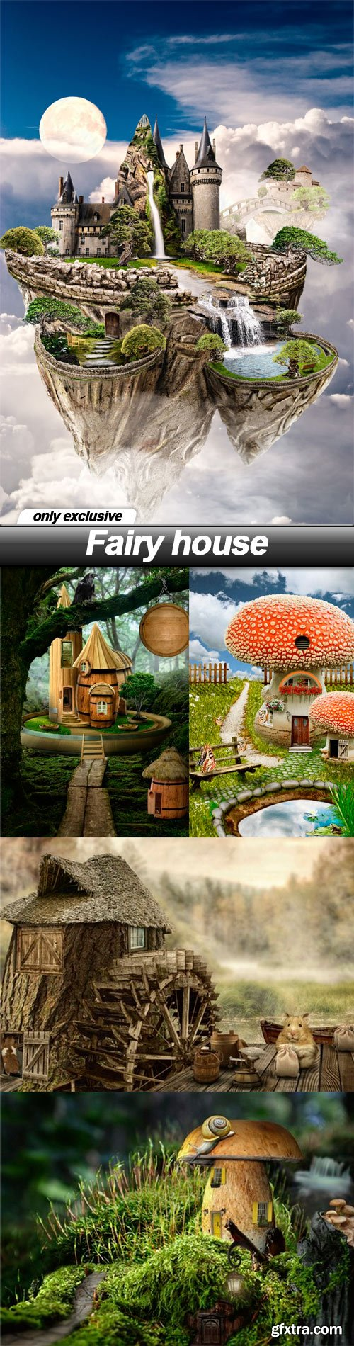 Fairy house - 5 UHQ JPEG