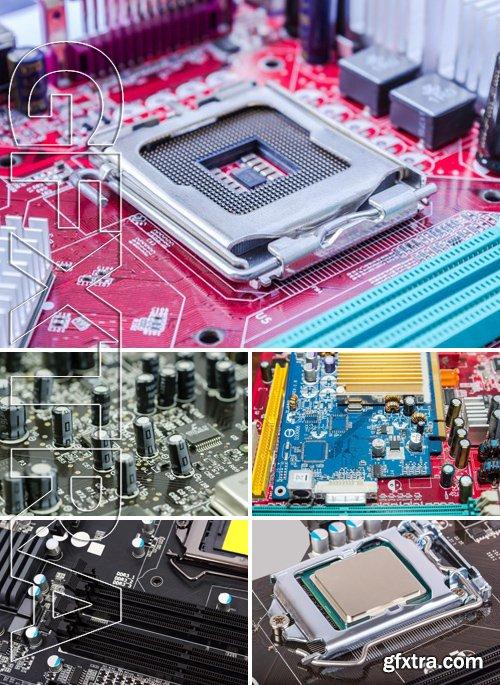 Stock Photos - Technology Background 11