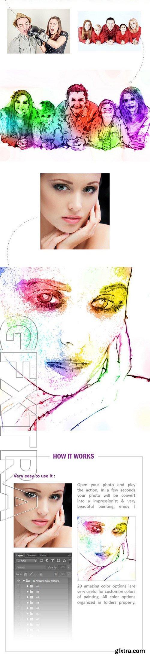 GraphicRiver - Smart Painting Vol.1 - Photoshop Action 11459711