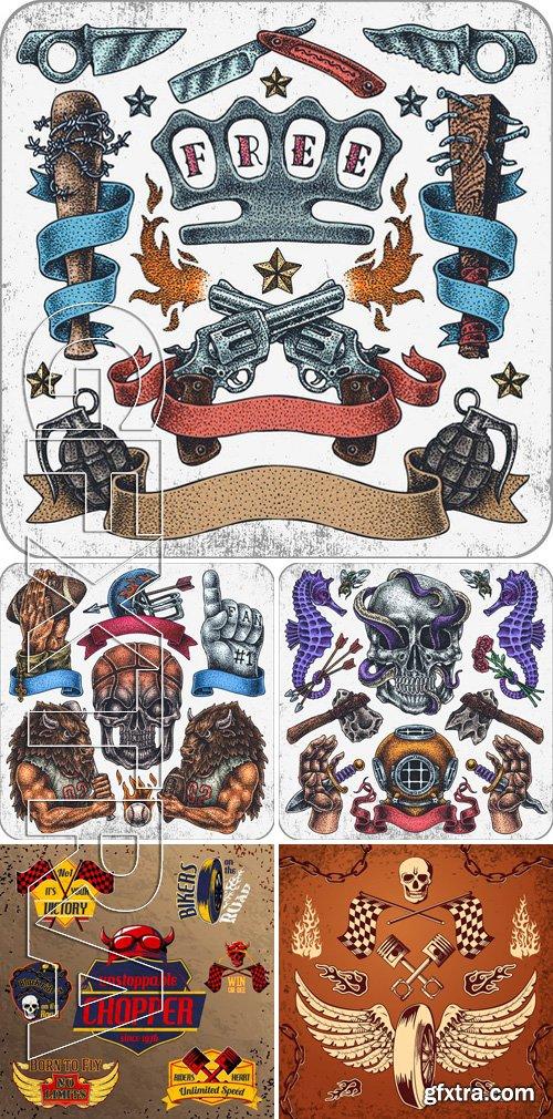 Stock Vectors - Tattoo design 3