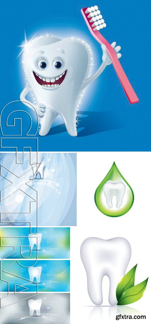 Stock Vectors - Teeth Design 3