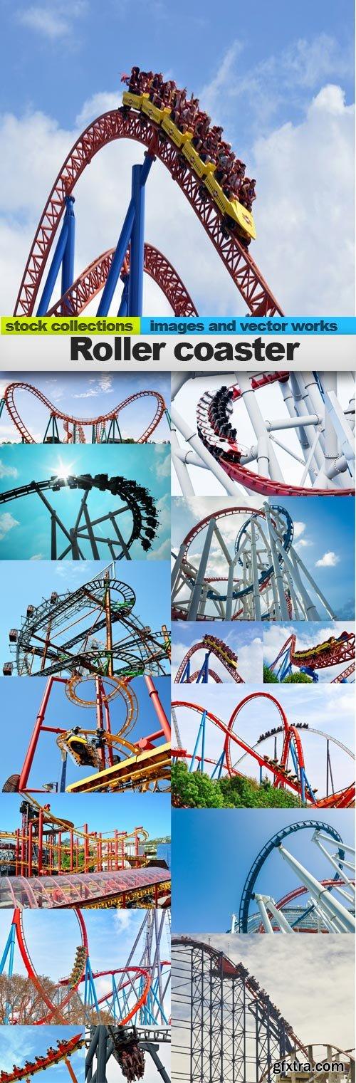 Roller coaster, 15 x UHQ JPEG