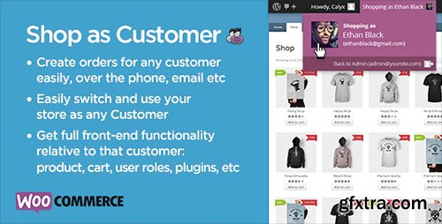 CodeCanyon - Shop as Customer v1.08 for WooCommerce - 7043722