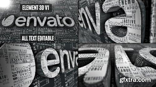 VideoHive Creative Words Logo Reveal 11330502