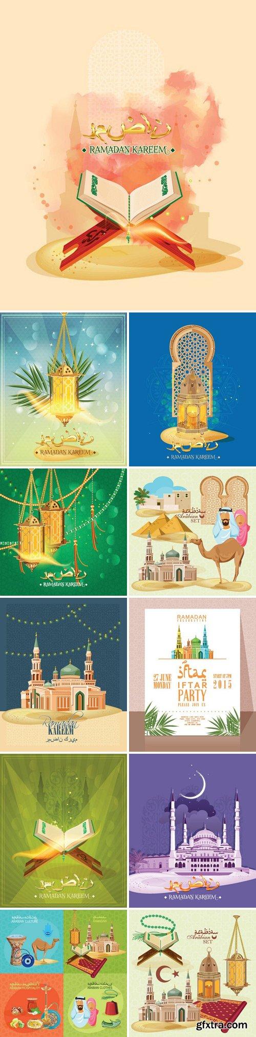 Stock Vectors - Ramadan Kareem Celebration 2