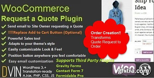 CodeCanyon - WooCommerce Request a Quote v2.1.0 - 6460218