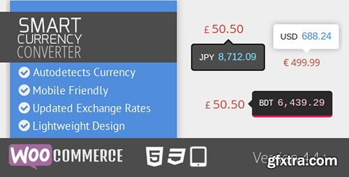 CodeCanyon - Smart Currency Converter v4.4.1 for WooCommerce - 6650944