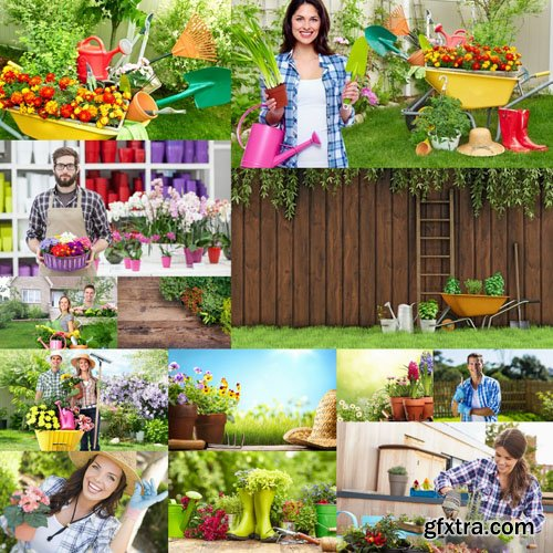 Gardening Collection - 25 HQ Images