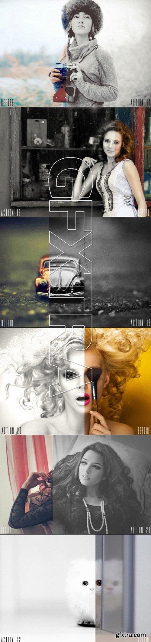 25 Black & White Photoshop Actions 11527320
