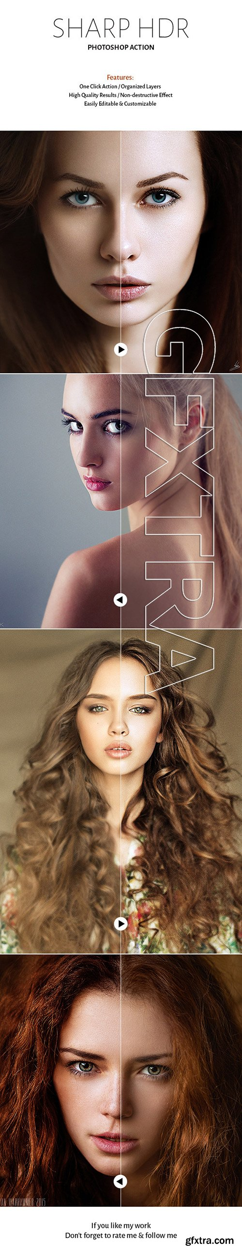 GraphicRiver - Sharp HDR Action 11477630