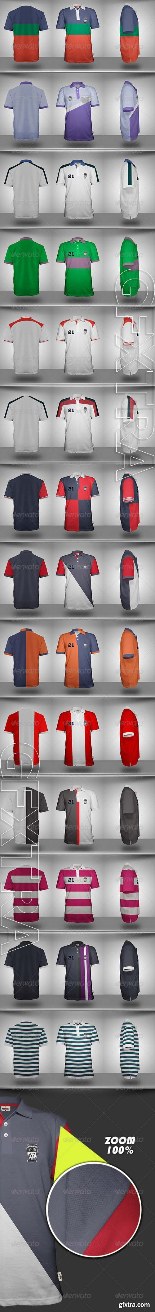 Polo Shirt Mock-Up - GraphicRiver 7317749