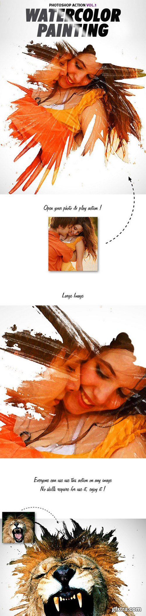 GraphicRiver - Watercolor Painting Vol1 Photoshop Action 11526676