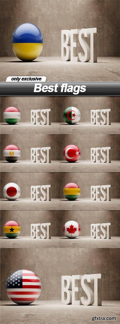 Best flags - 10 UHQ JPEG