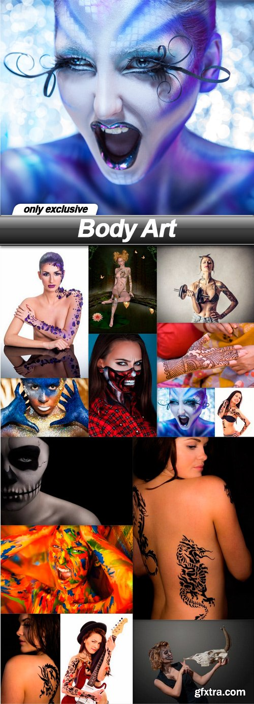 Body Art - 15 UHQ JPEG