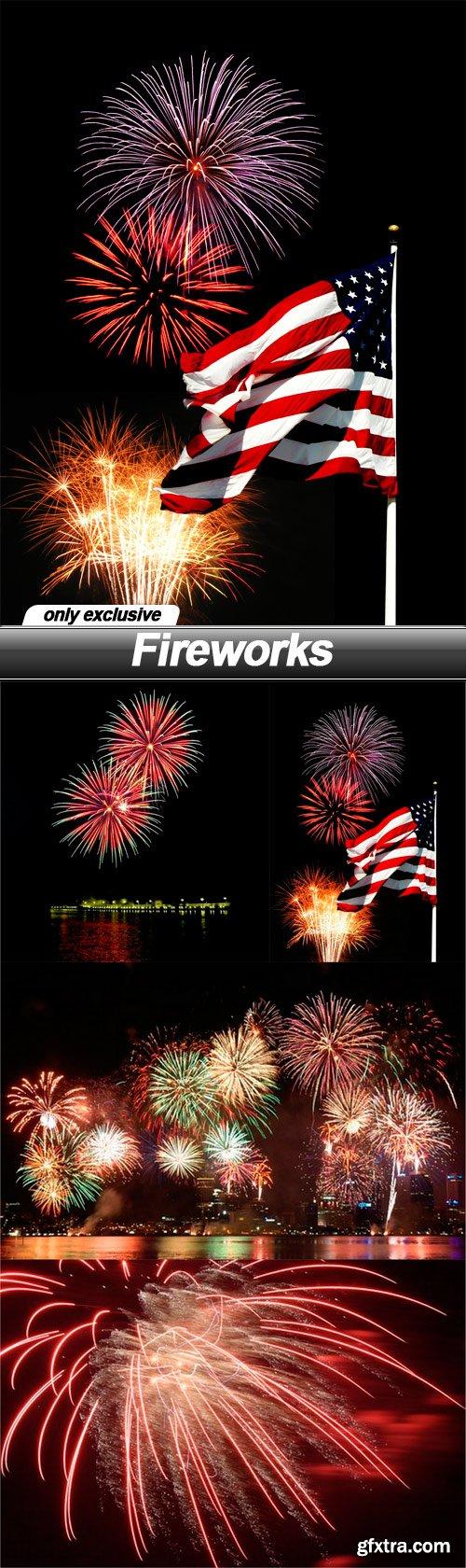 Fireworks - 5 UHQ JPEG