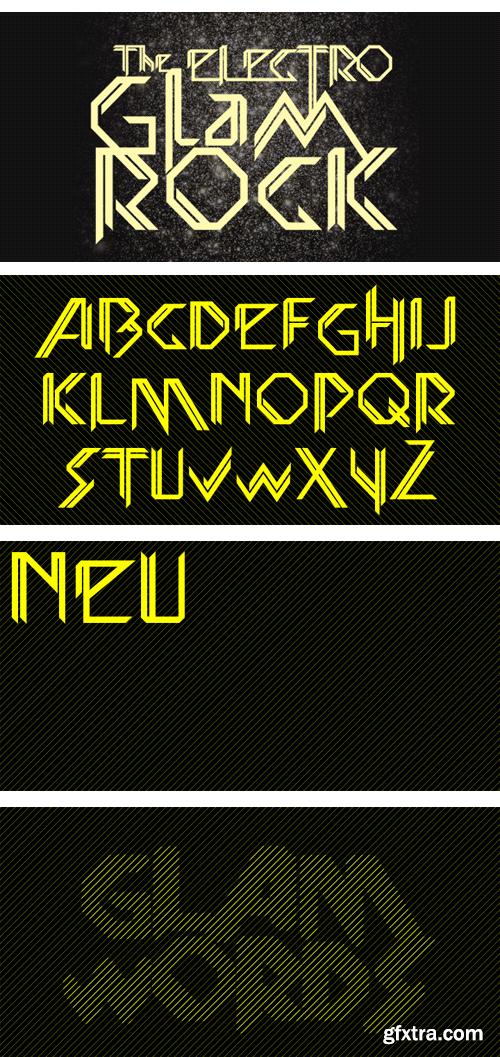 Glamwords Font Family