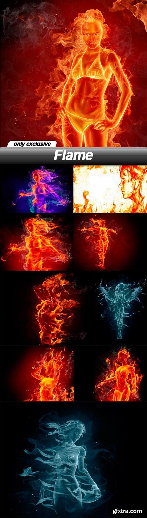 Flame - 10 UHQ JPEG