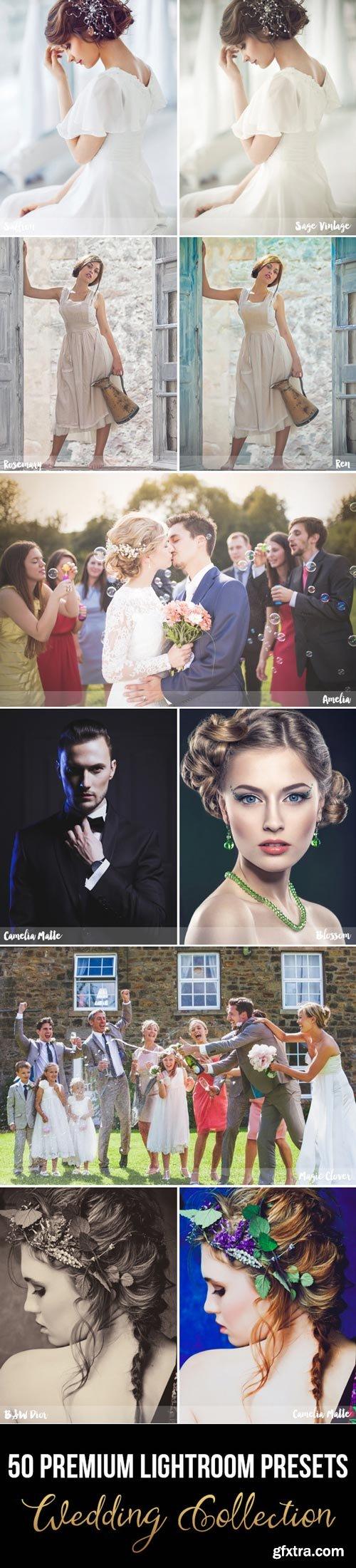 GR 50 Premium Wedding Lightroom Presets - 11494445