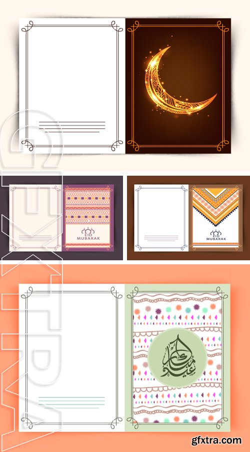 Stock Vectors - Decorated greeting card design