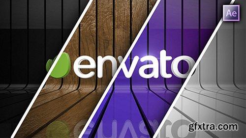 Videohive Ribbon Wall Logo Reveal 9788815